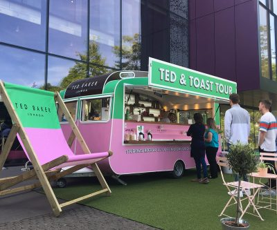 Ted Baker Tea and Toast Tour - Promo Vehicle Conversion