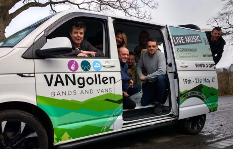 Vangollen Music Festival Team - Vehicle Wrap