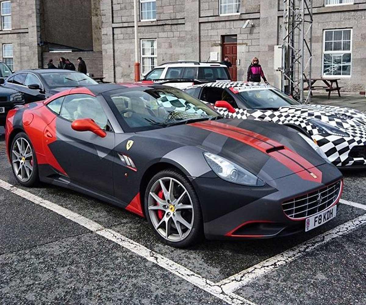 Gumball 3000 Wrap Ferrari 458 Now Group Portfolio