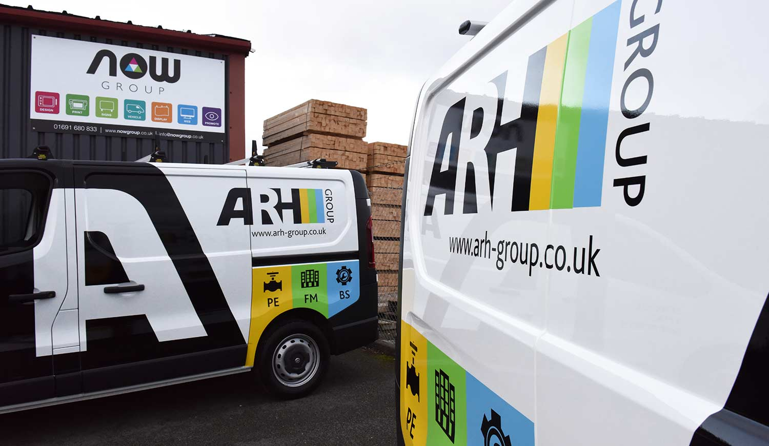 Fleet Graphics in Oswestry - Now Group