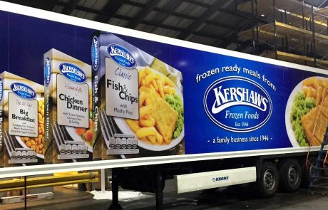 Kershaws Truckside Advertising - Printed advertising