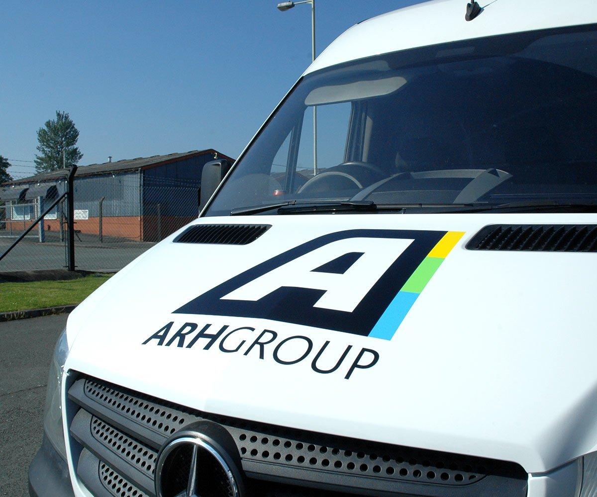 ARH Group Mercedes Sprinter bonnet