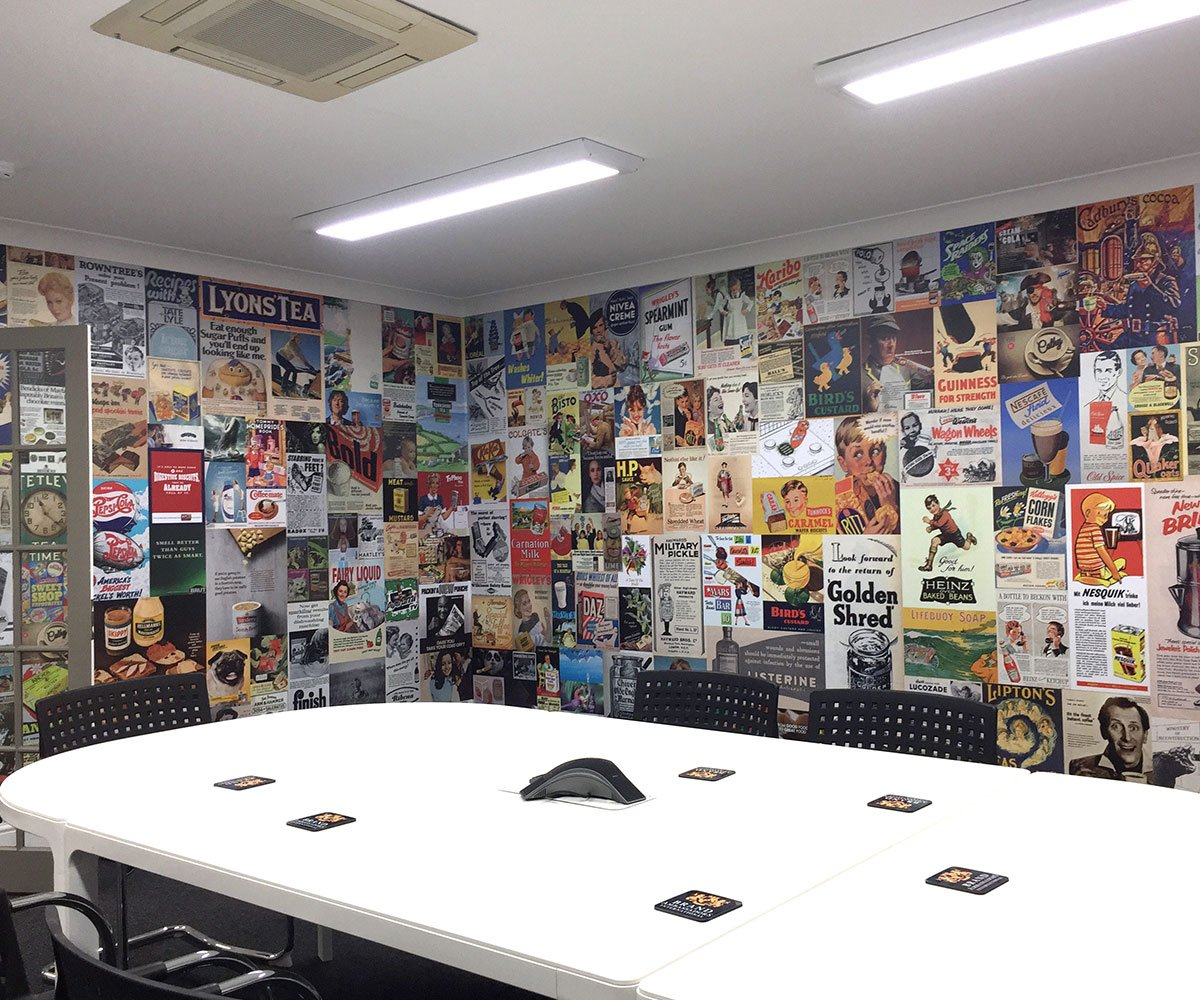 Brands Solutions office boardroom graphics