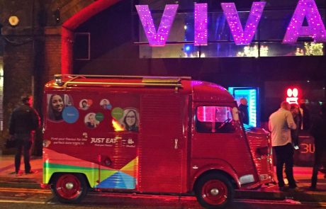 Just Eat VIVA nightclub Vehicle Wrap