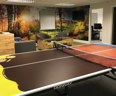 Brands Solutions table tennis table wrap