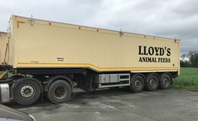 Lloyd's Animal Feeds Trailer Vehicle Decals