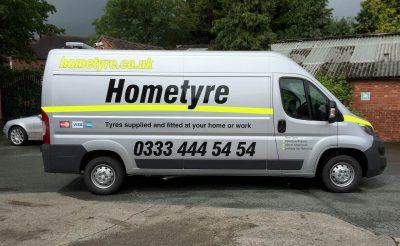 Hometyre Citroen Relay Vehicle livery