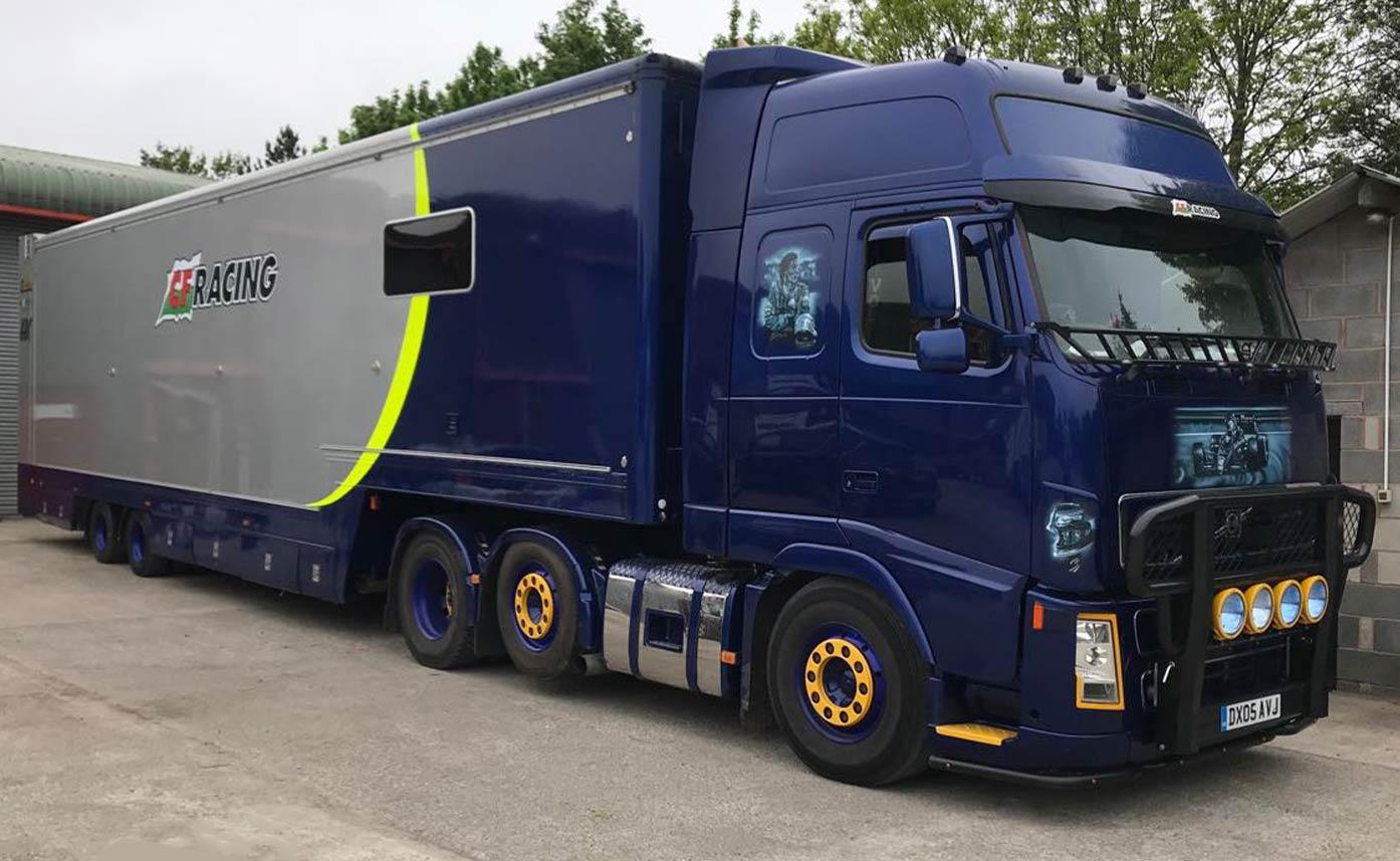 CF Racing HGV graphics - Artic Truck graphics