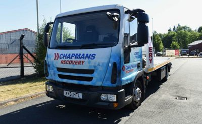 Chapmans Recovery wrap - Recovery Truck graphics