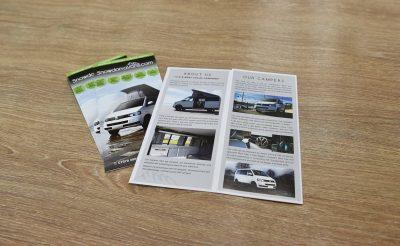 Snowdonia Vans Flyers - automotive printing