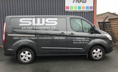 SWS Livery - Grey van livery