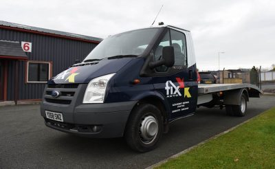 Fix Auto Oswestry Flat Bed Livery