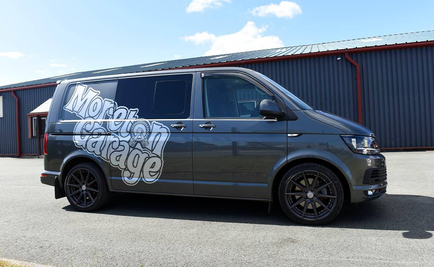 Moreton Garage VW Transporter Livery