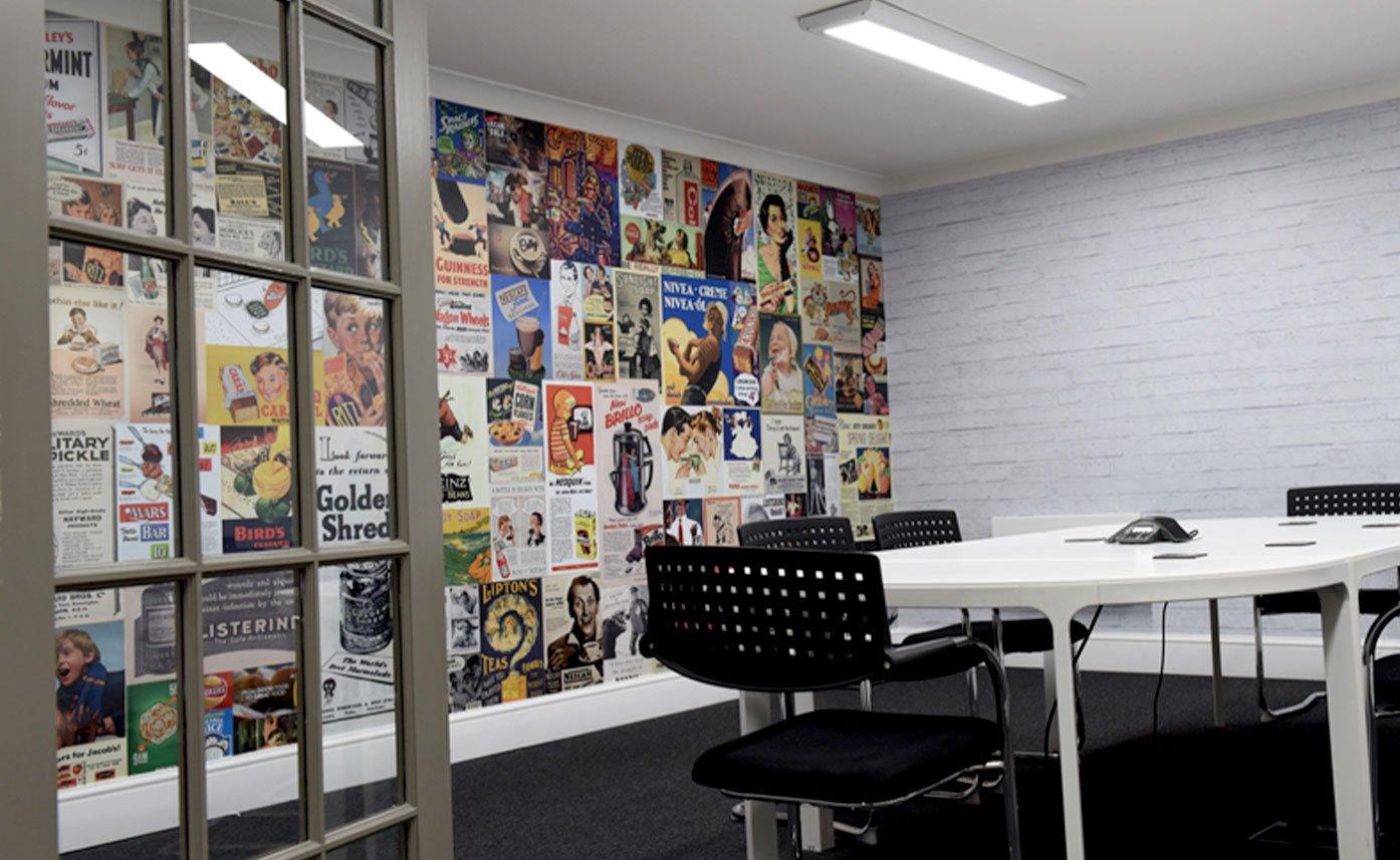 Printed Office Boardroom Wall Print