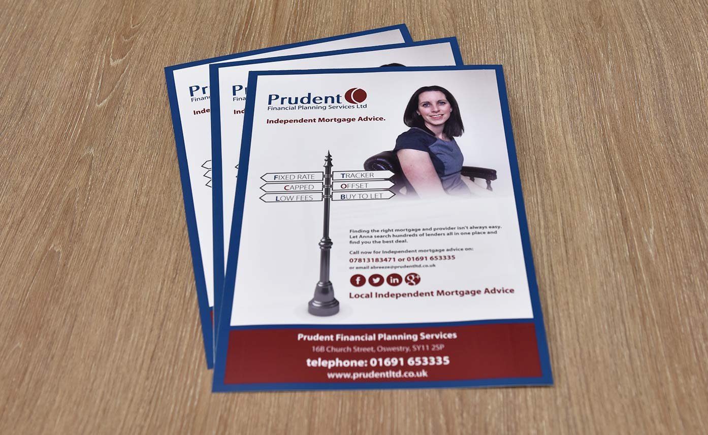 Prudent Financial Planning Printed Posters