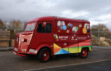 Just Eat HY Van Catering Conversion
