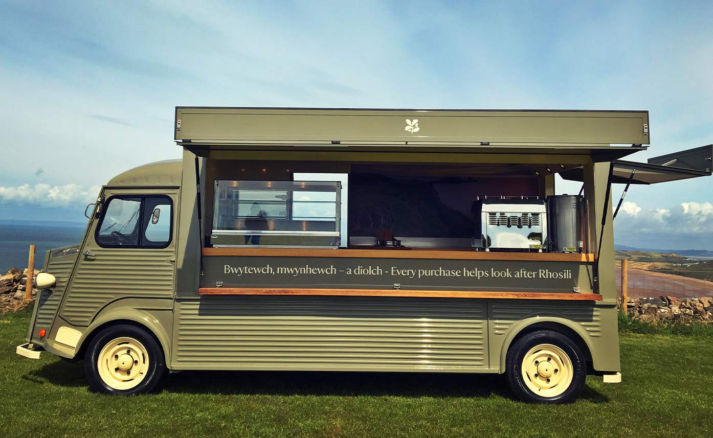 Rhosilli Bay HY Van Catering Conversion