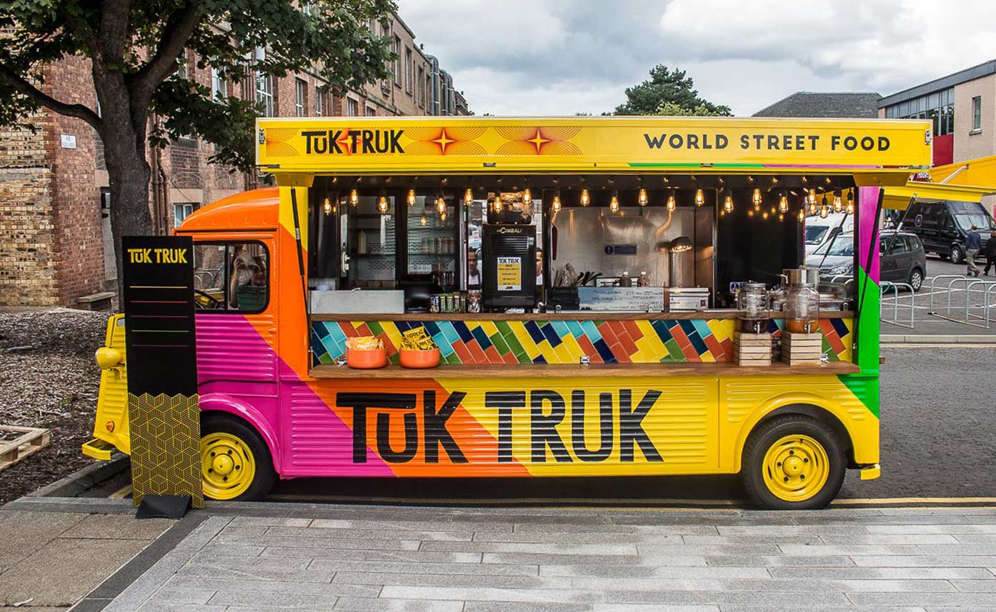 Tuk Truk HY Van Catering Conversion