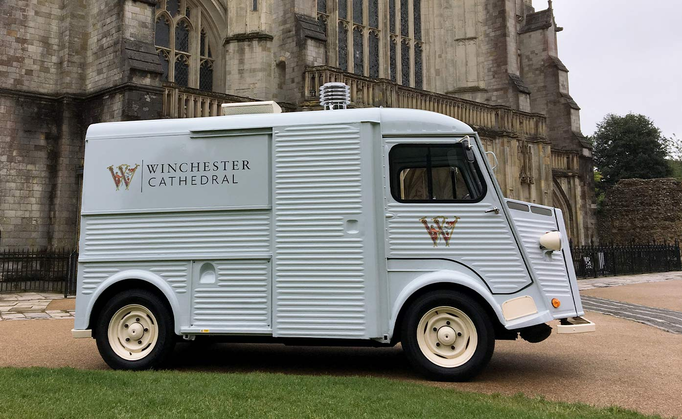 Winchester Cathedral HY Van - Catering Truck Conversion