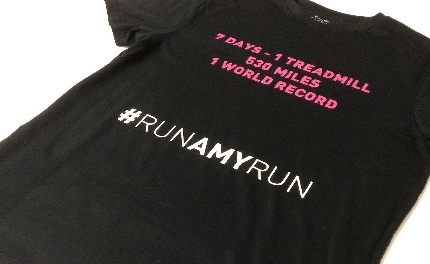 53:53 Marathons printed t shirts