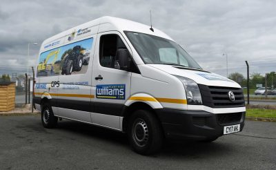Williams Construction Vehicle wrap - VW Crafter Livery