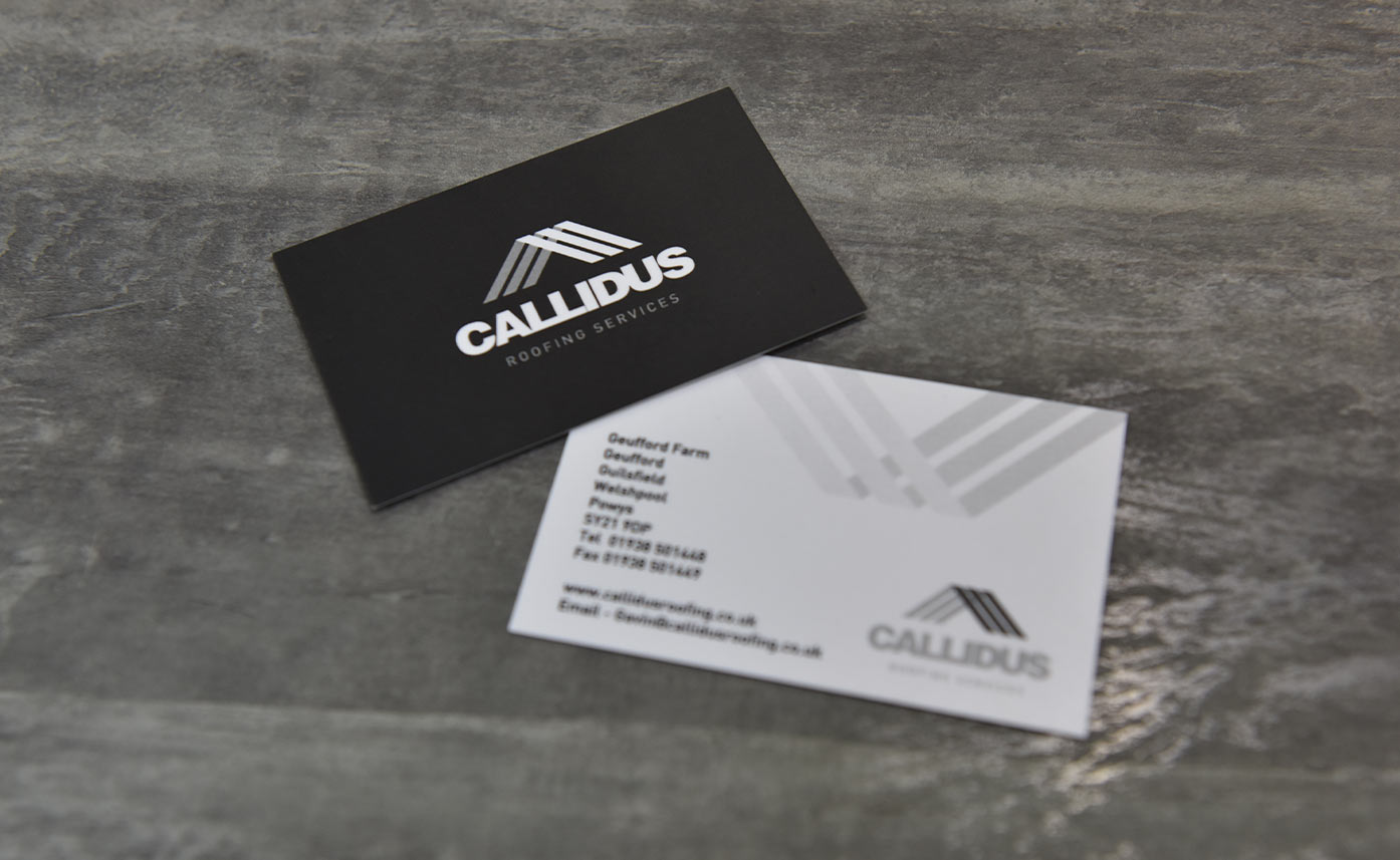 Callidus Roofing Printing - business cards