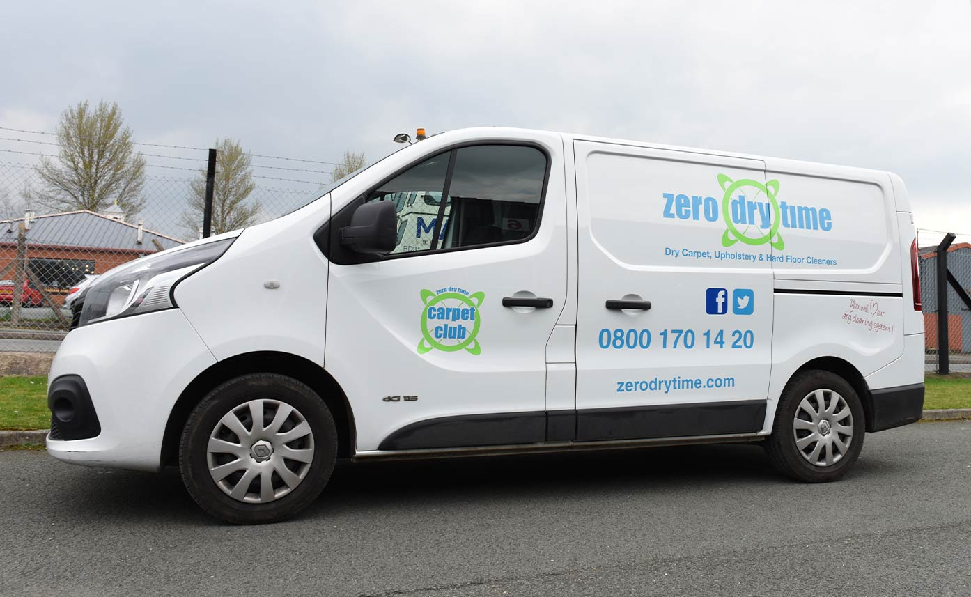 Zero Dry Time Vehicle Livery Cleaning Vehicle