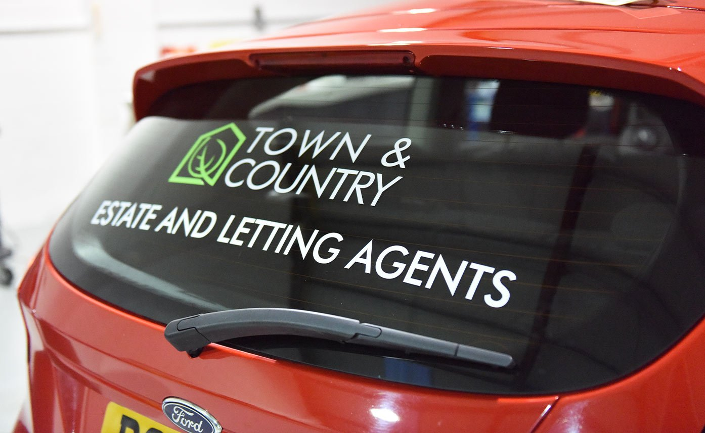 Town And Country Oswestry Ford Fiesta Wrap