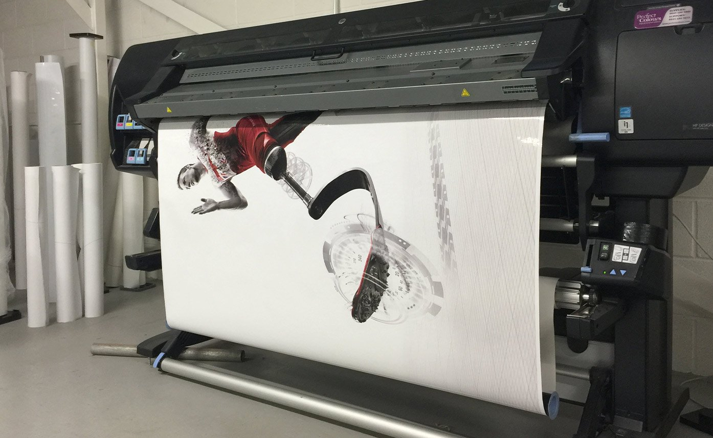 Event printing Nissan Event HP Printer