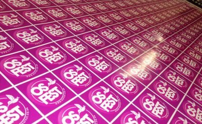 Event printing os fest stickers - osfest