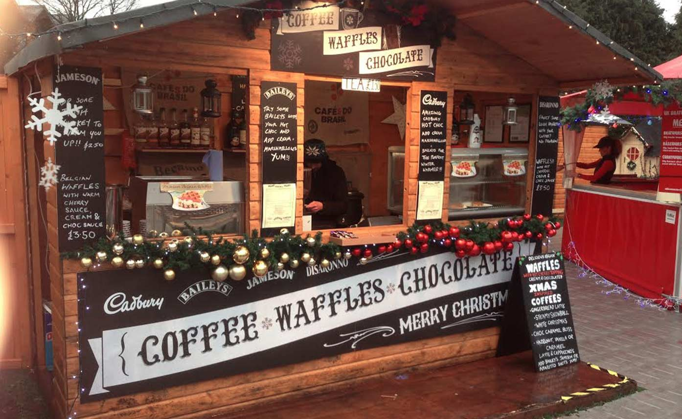 event printing chocolate stall festival shop