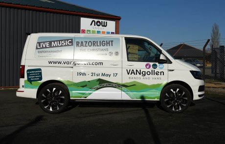 Vangollen Music Festival Event Graphics - Printed vehicle wrap