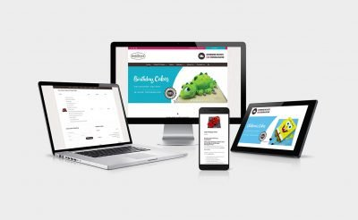 3DCakeStore - Cake Shop Web Design