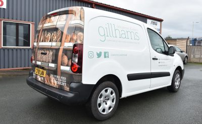 Gillhams Deli Vehicle Wrap Design