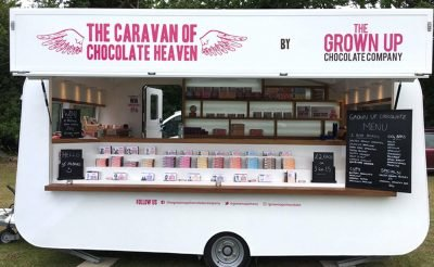 Grown Up Chocolate Company Caravan of Chocolate Heaven
