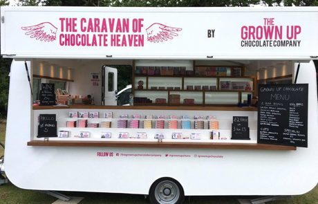 Grown Up Chocolate Company Caravan of Chocolate Heaven