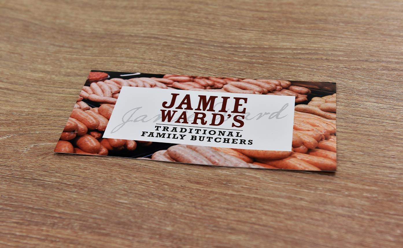 Jamie Wards Butchers Gift Vouchers Oswestry