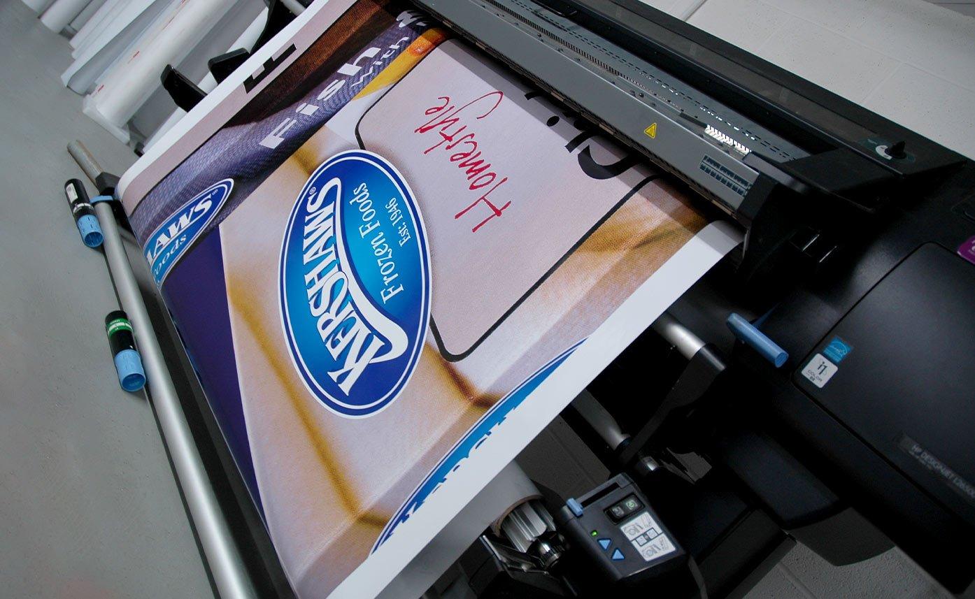 Kershaws Foods Printed vinyl