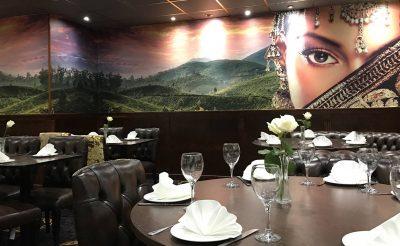 Cafe India Wall print - Printed wall mural restaurant