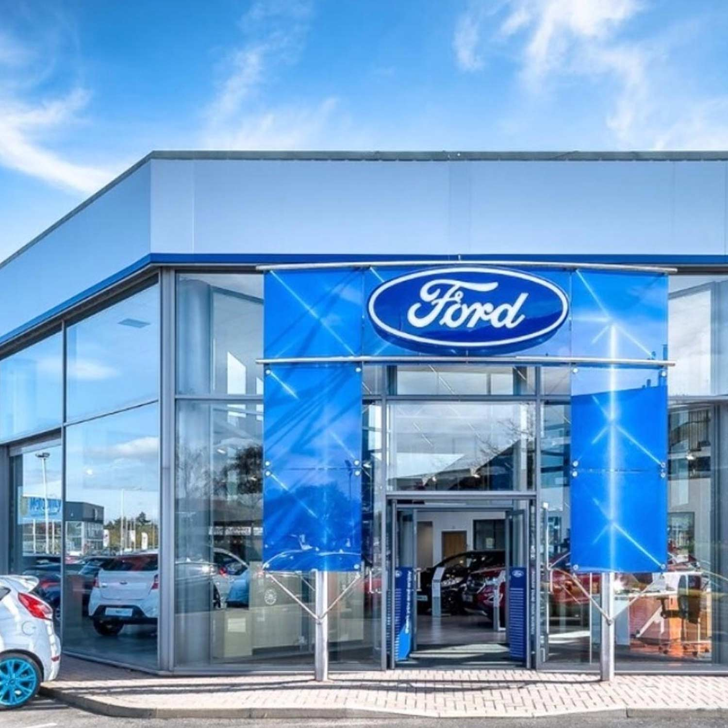 Ford-Garage Automotive graphics industry