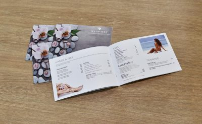 Wynnstay Beauty Suite Oswestry Spa Brochures