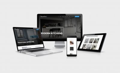 Kitchen and Bathroom Website Design for Innovation KB