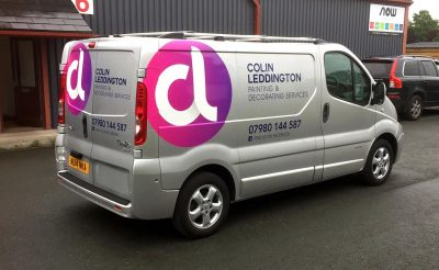 Painting and Decorating Vehicle Design - Vehicle Graphics