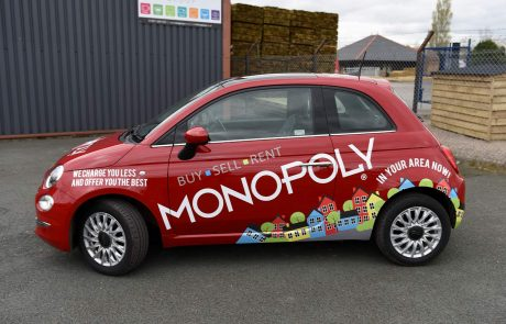 Monopoly Buy Sell Rent Fiat 500 Livery