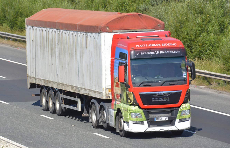 HGV Wrap - Platts Animal Bedding Vehicle Wrap