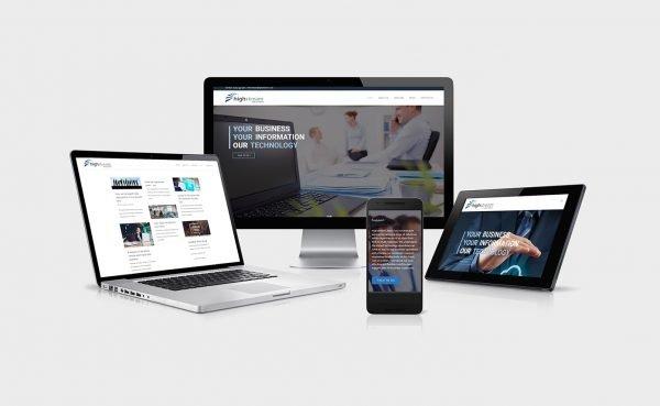 Highstream Solutions web design oswestry