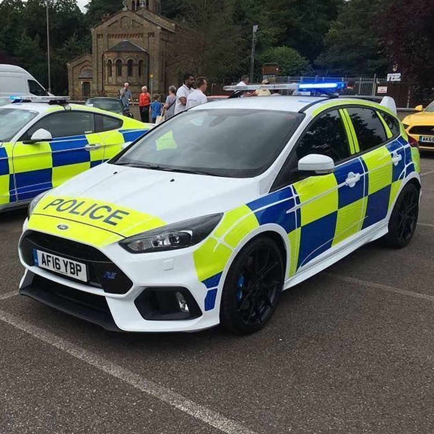 Public Sector Industry - Police Car Chevrons