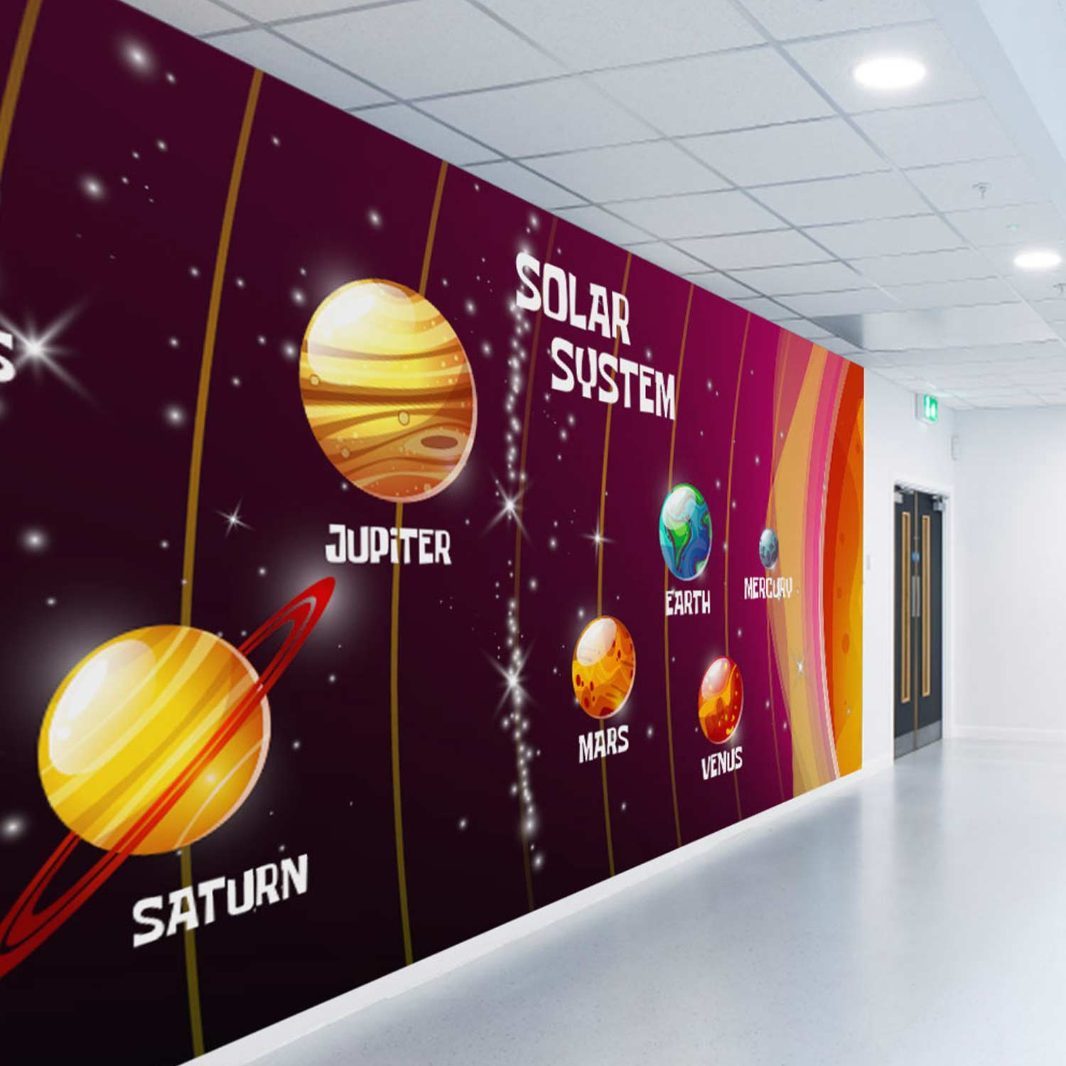 Education and Schools Wall Graphics - Printed wall mural