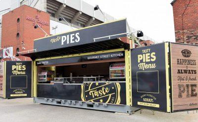 Liverpool FC Pies Kiosk - Taste Events Catering - Anfield Stadium