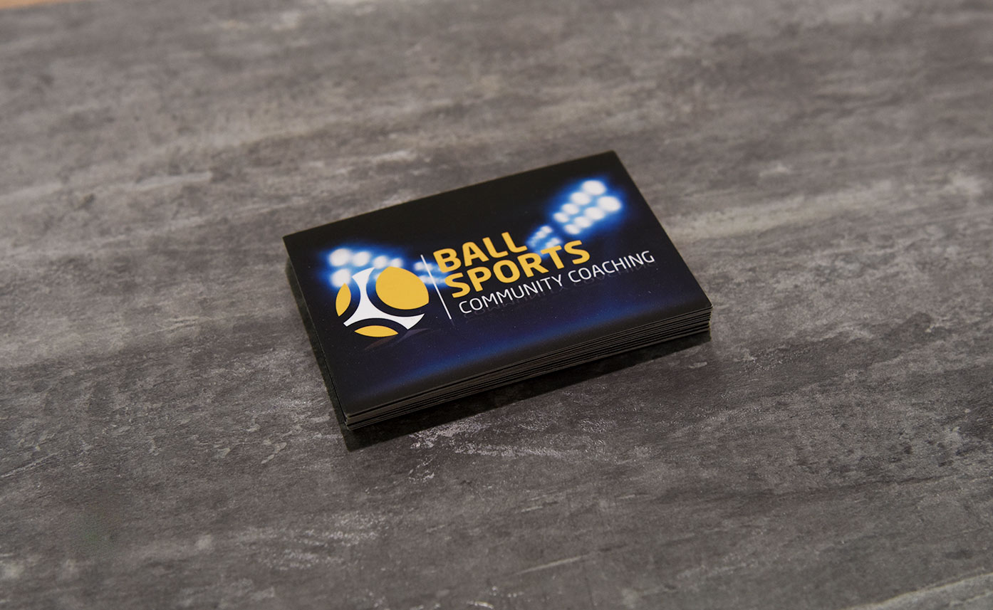 Ball Sports Oswestry Business Cards